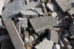 Afval afvoeren puin en steen tuinbags